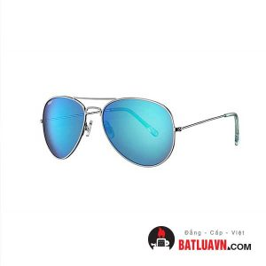 Mắt kính mát zippo OB01-16 – Ice blue flash pilot sunglasses