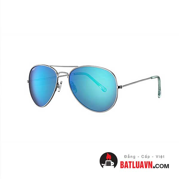 Mắt kính mát zippo OB01-16 – Ice blue flash pilot sunglasses