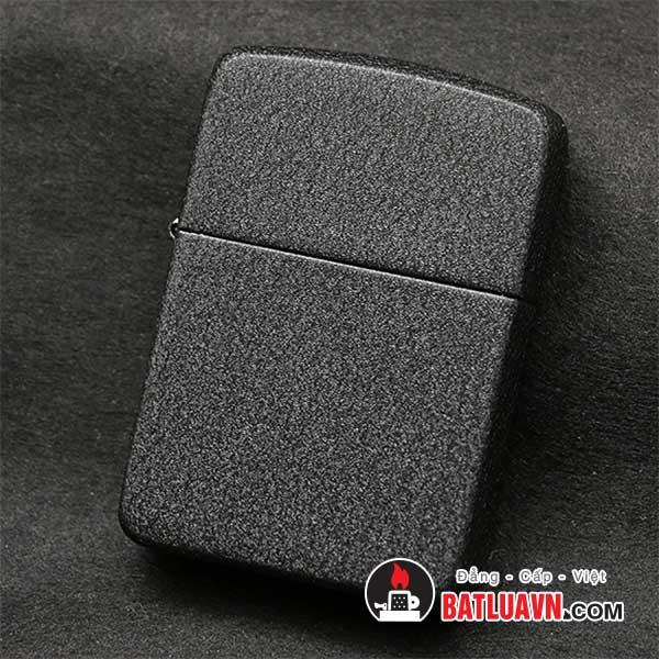 Zippo 1941 replica black crackle lighter - 28582 2