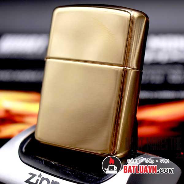 Zippo armor high polished brass - 169 2