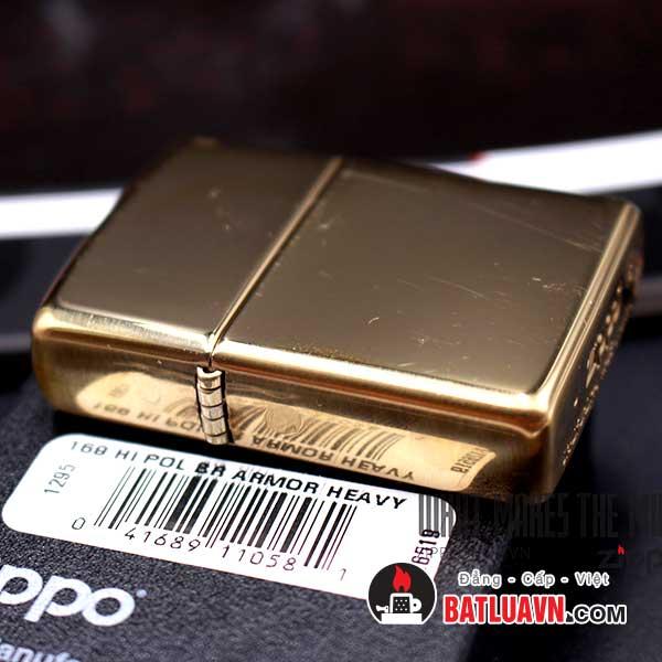 Zippo armor high polished brass - 169 3