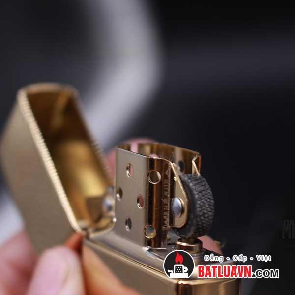Zippo armor high polished brass - 169 4