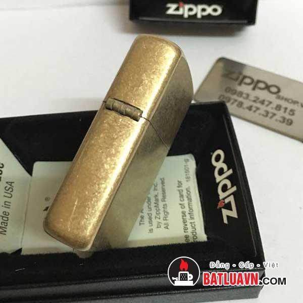 Zippo armor tumbled brass - 28496 3