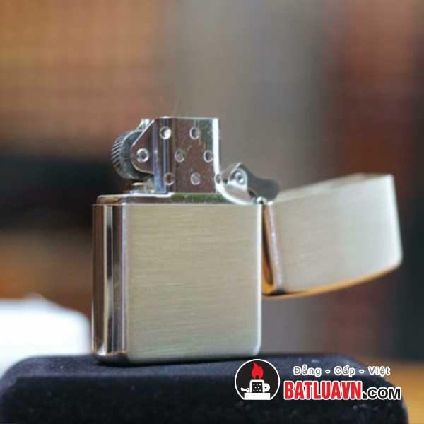 Zippo bạc nguyên bản - Sterling silver 3