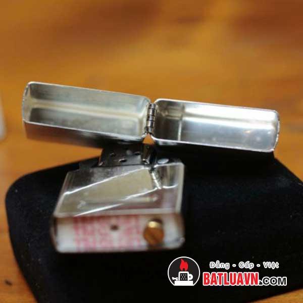 Zippo bạc nguyên bản - Sterling silver 4