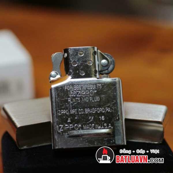 Zippo bạc nguyên bản - Sterling silver 5