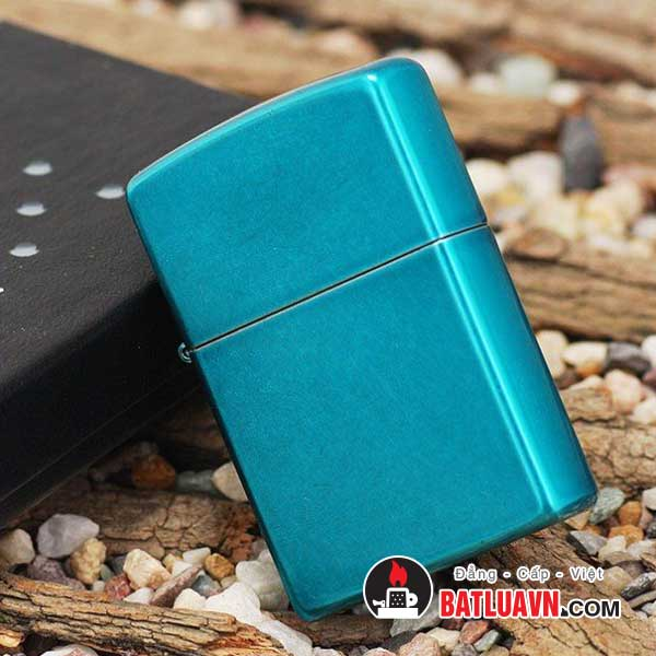 Zippo candy teal 3