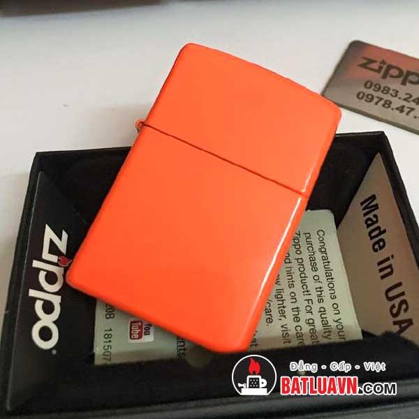 Zippo neon orange matte - 28888 2