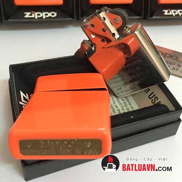 Zippo neon orange matte - 28888 4