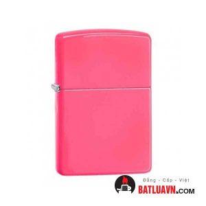 Zippo neon pink matte 1