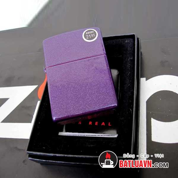 Zippo purple shimmer 3