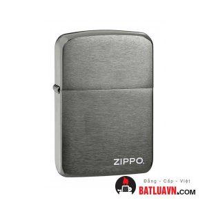 Zippo replica 1941 black ice with zippo logo - 24485