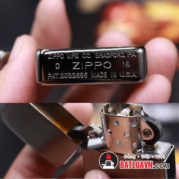 Zippo replica 1941 brushed chrome - 1941 5