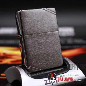 Zippo vintage brushed chrome - 230 2