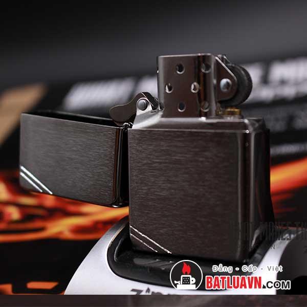 Zippo vintage brushed chrome - 230 4