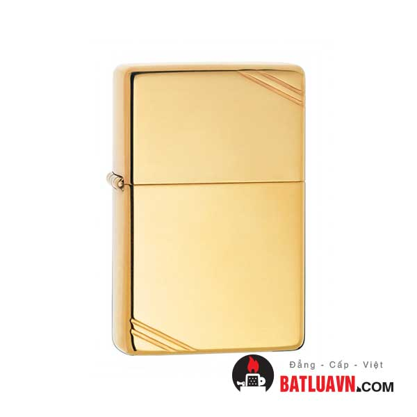 Zippo vintage high polish brass - 270