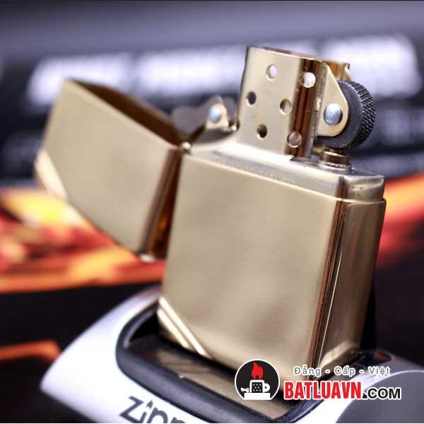 Zippo vintage high polish brass - 270 3