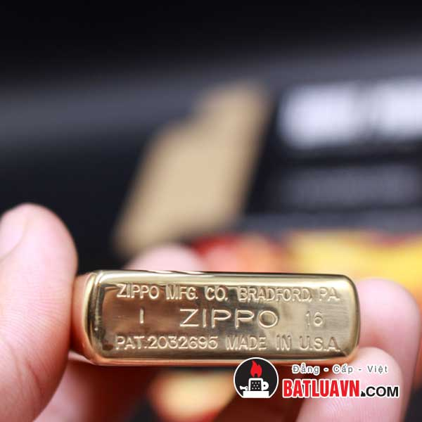 Zippo vintage high polish brass - 270 4