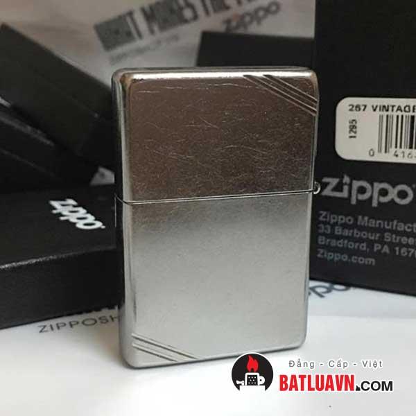 Zippo vintage street chrome - 267 2
