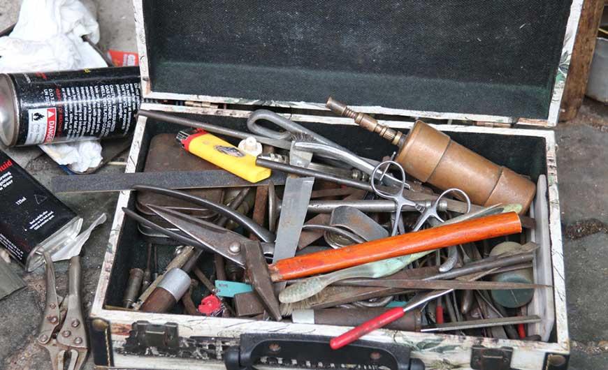 Những dụng cụ cần thiết khi sửa zippo